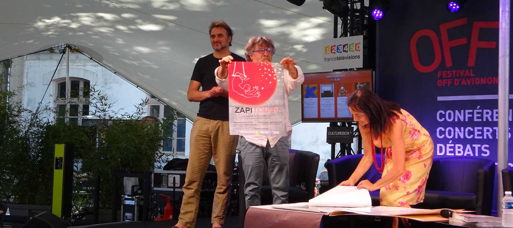 """Concours de la plus belle affiche du 0FF17 : """"Zapi rouge"""" primée!"""