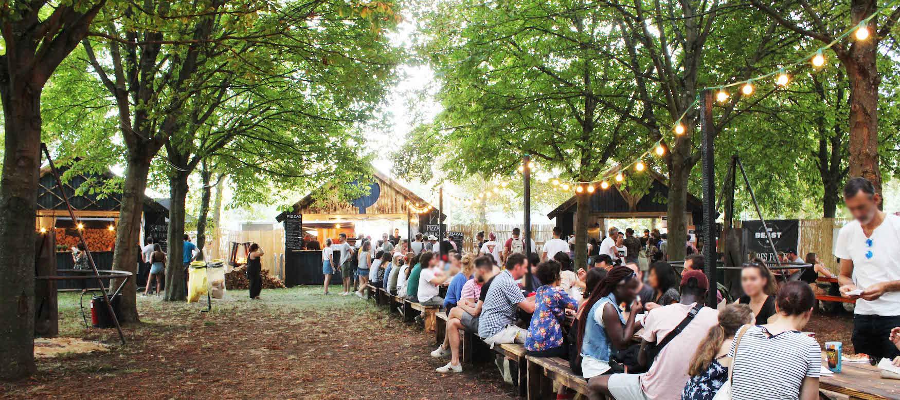 """""""LE COIN DES BRAISES"""" , festival Rock-en-Seine"""